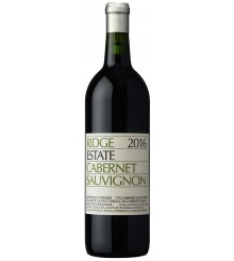 Ridge Vineyards Cabernet Sauvignon Estate 2016 75CL