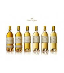 Collection d'Yquem 2000-2001-2003-2008-2009-2011