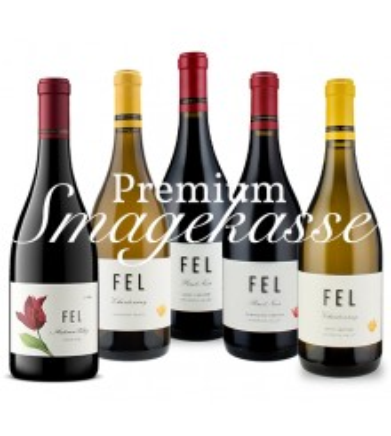 FEL Wines Smagekasse Premium, Anderson Valley, Californien