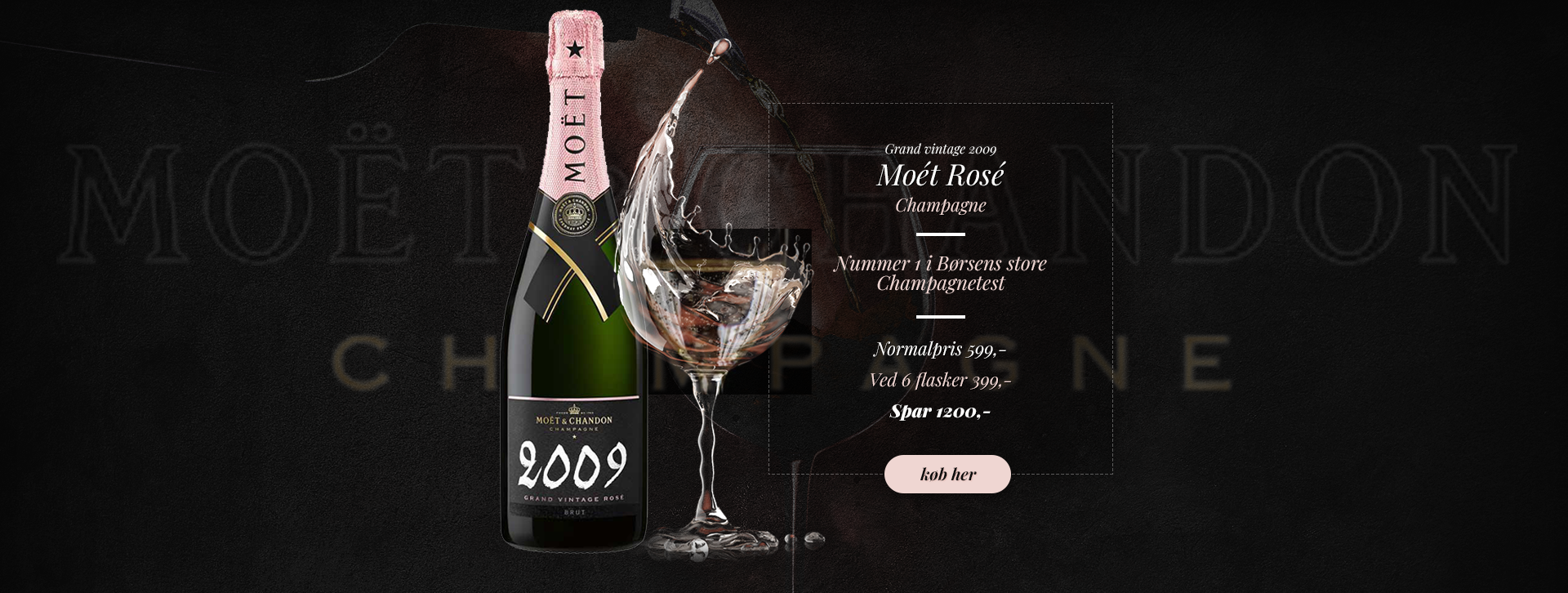 Moet & Chandon Vintage Rose 2009
